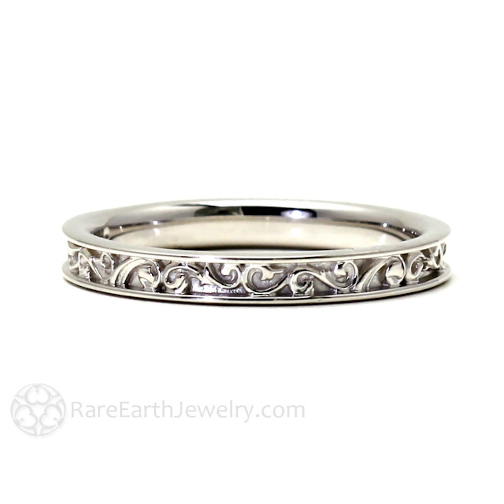 filigree wedding band wedding ring for vintage ring