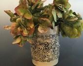 Ceramic Textured Handmade Vase V-2