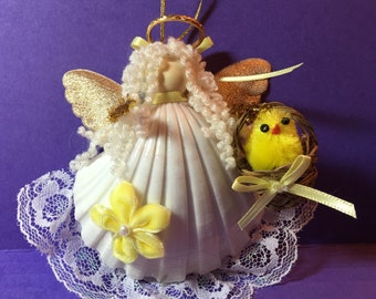 Easter Angel in Yellow