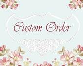 Custom Listing for Melody - Rag Quilt Table Runner