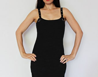 Custom Alteration T shirt Reconstruction Strap Tank Mini Dress send your shirt altered clothing