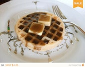 Sale -  Waffle with butter and syrup soap