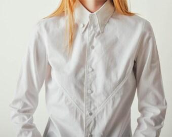 Vintage Jean Paul Gaultier White Button Down Shirt