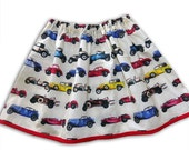 Girl's Car Skirt / Children's / Kids / Baby Clothes / Baby Shower Gift