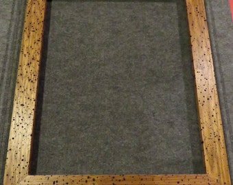 16x20 Butternut Worm Tracking Picture Frame E