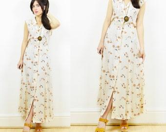 90s floral grunge dress, floral maxi dress, 90s grunge, boho maxi dress, floral, button up dress, flowy dress, 90s maxi dress, boho dress