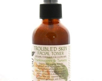 Troubled Skin Toner With Frankincense and Tamanu