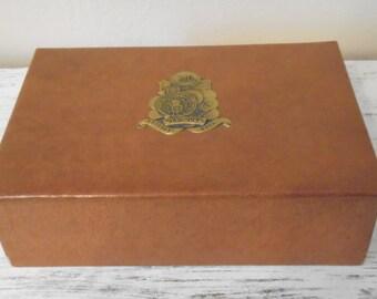 Unique cigar box cardboard related items etsy for Cardboard cigar box crafts