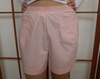 Vintage 50s Pink Cotton Short Shorts