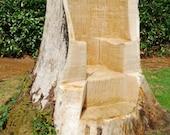 Custom stump-throne 2 of 2