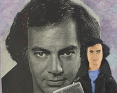 Neil Diamond Doll Miniature Fan Art Character Pop Music Star