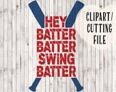 hey batter batter svg, baseball svg, baseball mom svg, svg files for baseball mom shirts, baseball tee, baseball cut files, baseball vinyl