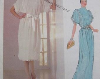 Vogue American Designer Kasper Dress Pattern 1188