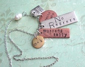 RESERVED for Cayla .. 9 qty custom charm necklaces plus 1 qty charm bracelet