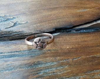 Cooper Star Ring