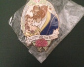 Vintage Beauty & The Beast Pin