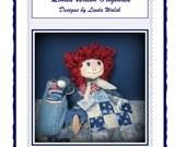 Wanna Quilt Annie Country Raggedy Ann Doll E-Pattern