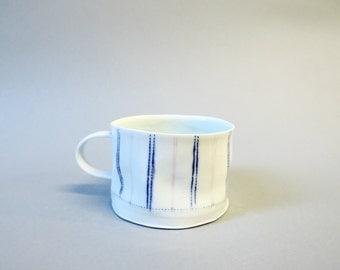 porcelain crumple cup