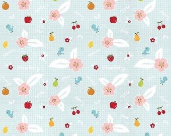 20% OFF Riley Blake Designs Sweet Orchard Fruit Aqua