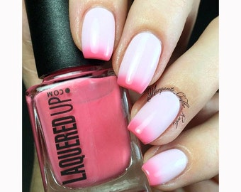Blush// Handmade Pink Thermal Color Changing Polish// Cruelty Free