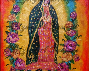 Lady Guadalupe, Print