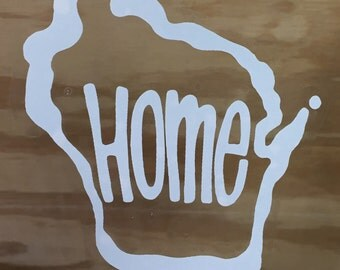 Wisconsin Home window cling