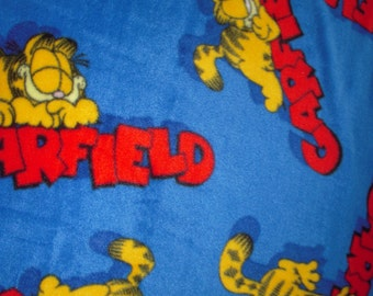 Garfield Fleece No-Sew Blanket