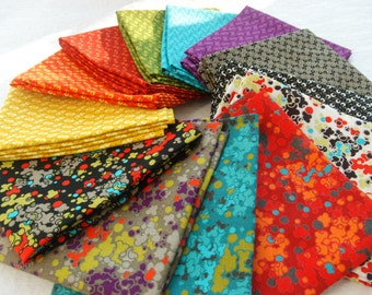 "Fat Quarter Bundles ""Annaluna"" by Hoodie Crescent for Stof Fabrics"
