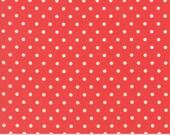 Preorder - Chestnut Street (20276 11) Pomegranate Polka Dot by Fig Tree & Co.