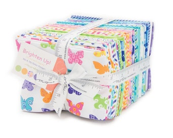 Brighten Up (22280AB) by Me & My Sister - Fat Quarter Bundle (40 FQ's)