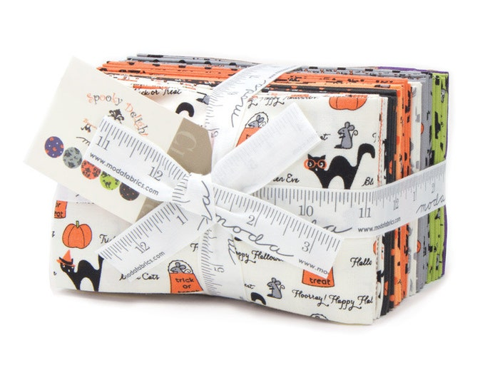 Featured listing image: SALE!!  Spooky Delights by Bunny Hill for Moda (2900F8) - Fat Eighth Bundle