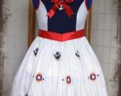 Lolita babydoll cosplay nautical sailor dress