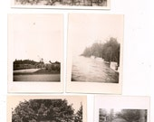 Fourteen Antique Photographs Landscapes Snapshots Great for Altered Art Projects