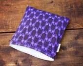 Purple Arrows Snack Bag