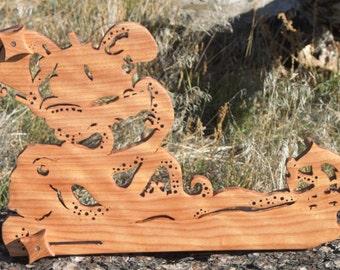 Card / Inkle weaving loom  - Okoume Kraken 5.4 yard warp!