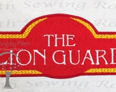 Lion Guard Logo  Applique Embroidery Design This is NOT A PATCH
