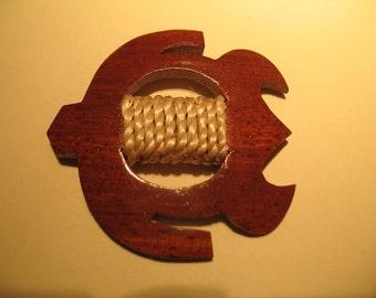 Wooden Honu Turtle Belt Buckle