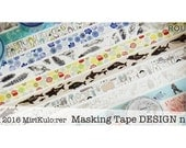 Washi Tape - Round Top Nordic Masking Tape Series - by MiriKulo:rer