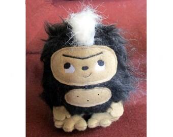 Skunk Ape Bigfoot Sasquatch Plush
