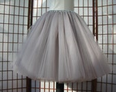 Black Tulle Skirt -- Made To Order for blablamath