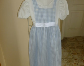 Dorothy costume girl's dress