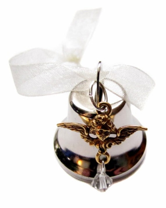 Angel Bell Christmas Ornament It 39 S A Wonderful By Heartprojects