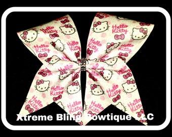 Cheer Bow --Hello Kitty Cheer Bow