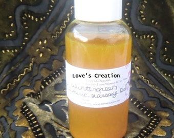 Turmeric Artheritic Pain Massage Oil With Wintergreen Essential Oil