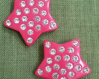 vintage star shoe clips