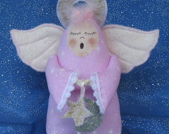 Mailed Cloth Doll Pattern an adorable little Angel