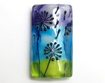 NEW! 11837903 Happy Wishes Kalera Focal Bead - Handmade Glass Lampwork Bead