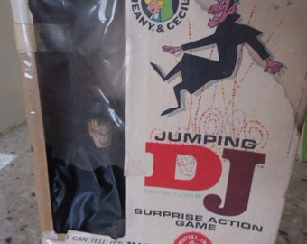 Vintage Beany & Cecil Mattel Rare Jumping DJ Surprise Action Game