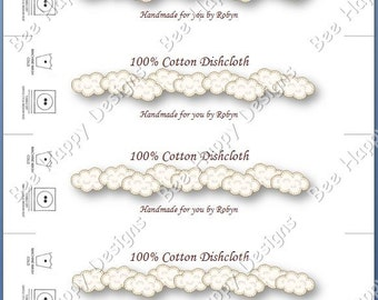 Just Clouds PDF - Labels, Tags, knitting, crochet