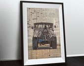 Jeep No.1 art print